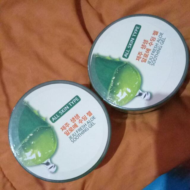 The Saem Jeju Fresh Aloe Shooting Gel