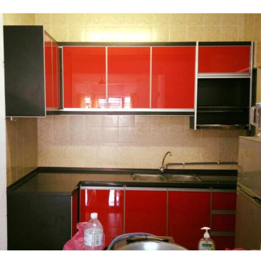Kabinet Dapur Kitchen Cabinet Home Furniture On Carou