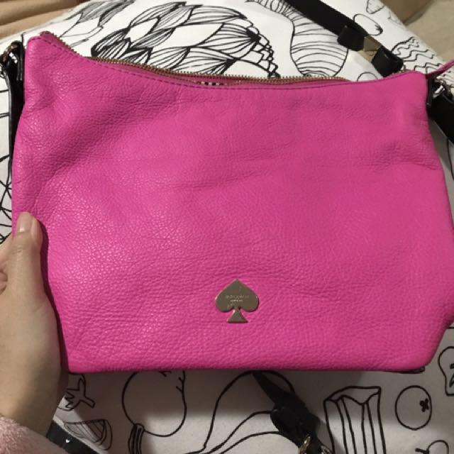 Kate Spade Leather Bag- Bow On The Bottom