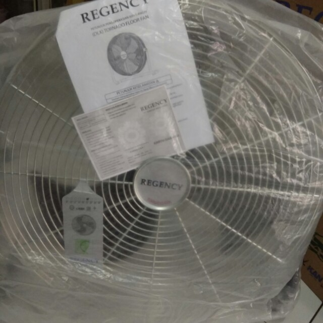 "Kipas angin REGENCY TORNADO FAN DELUXE 18"", Home & Furniture on Carousell"