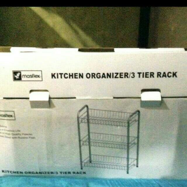 Kitchen 3Layer Rack