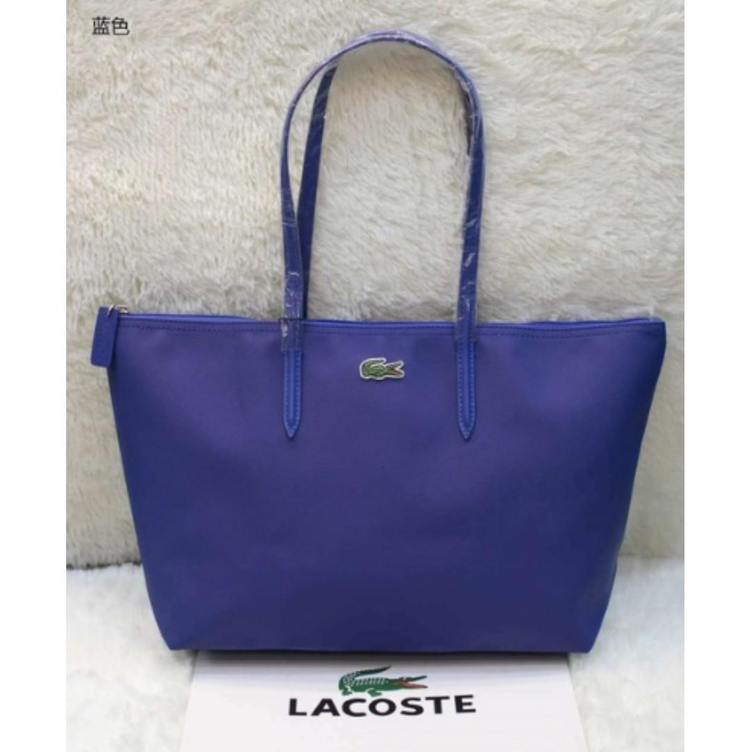 0b879bba32e Lacoste Womens L.12.12 Concept Tote Bag, Colour - Surf the web ...