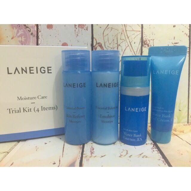 Laneige Moisture Trial Kit (4items)