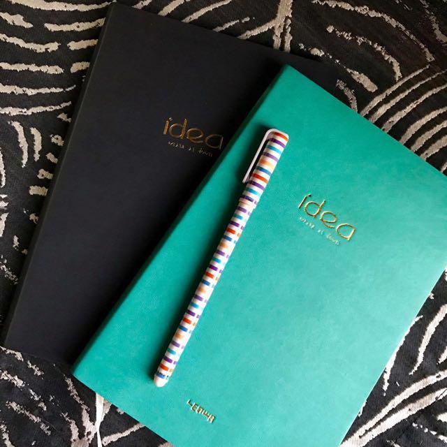 Leather journals plain