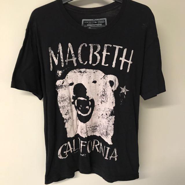 MacBeth Bear T-Shirt
