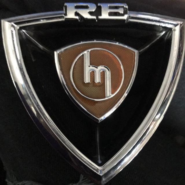 Mazda RE nose cone badge 10a