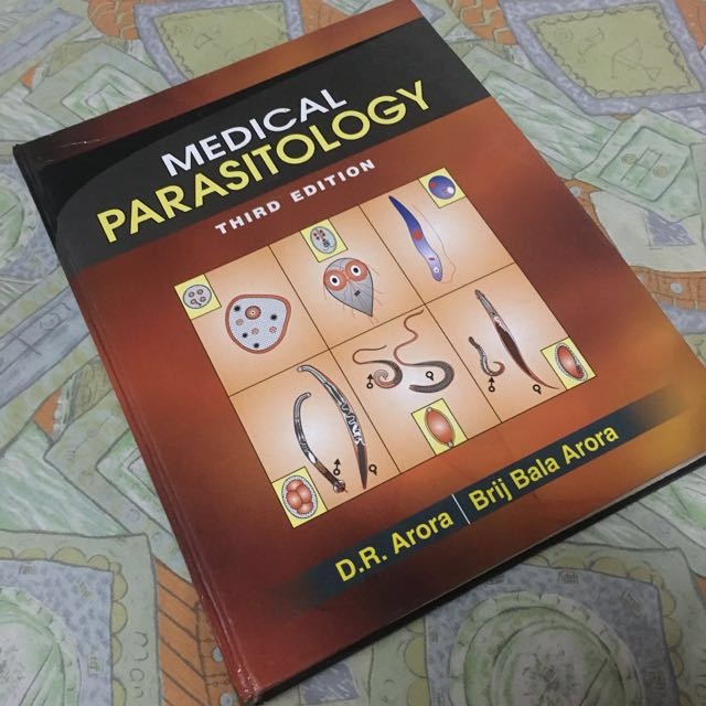 Medical Textbook: Medical Parasitology 3rd Edition by D R Arora & Brij Bala  Arora