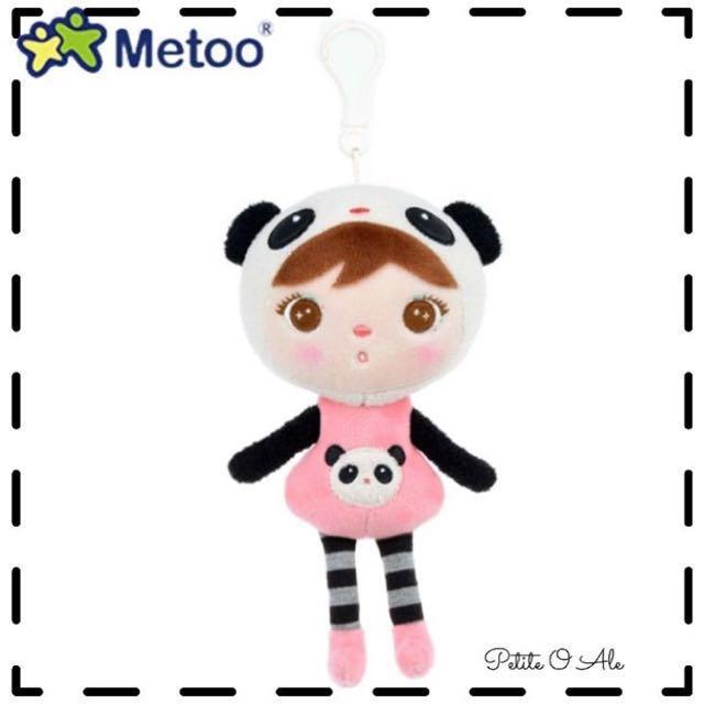 Metoo panda keychain