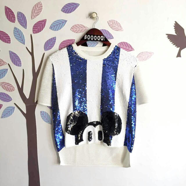 Mickey Sequin Top
