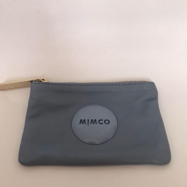 MIMCO blue wallet