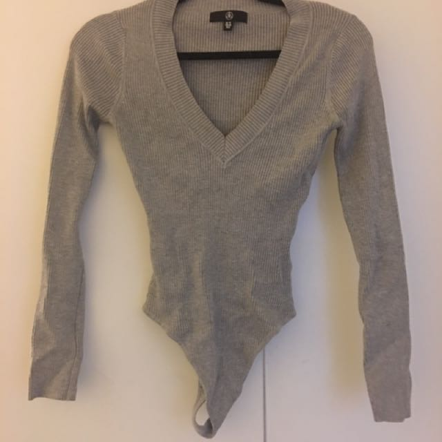 Misguided Knit Bodysuit 10