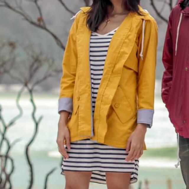 MM Collective Yellow Parka