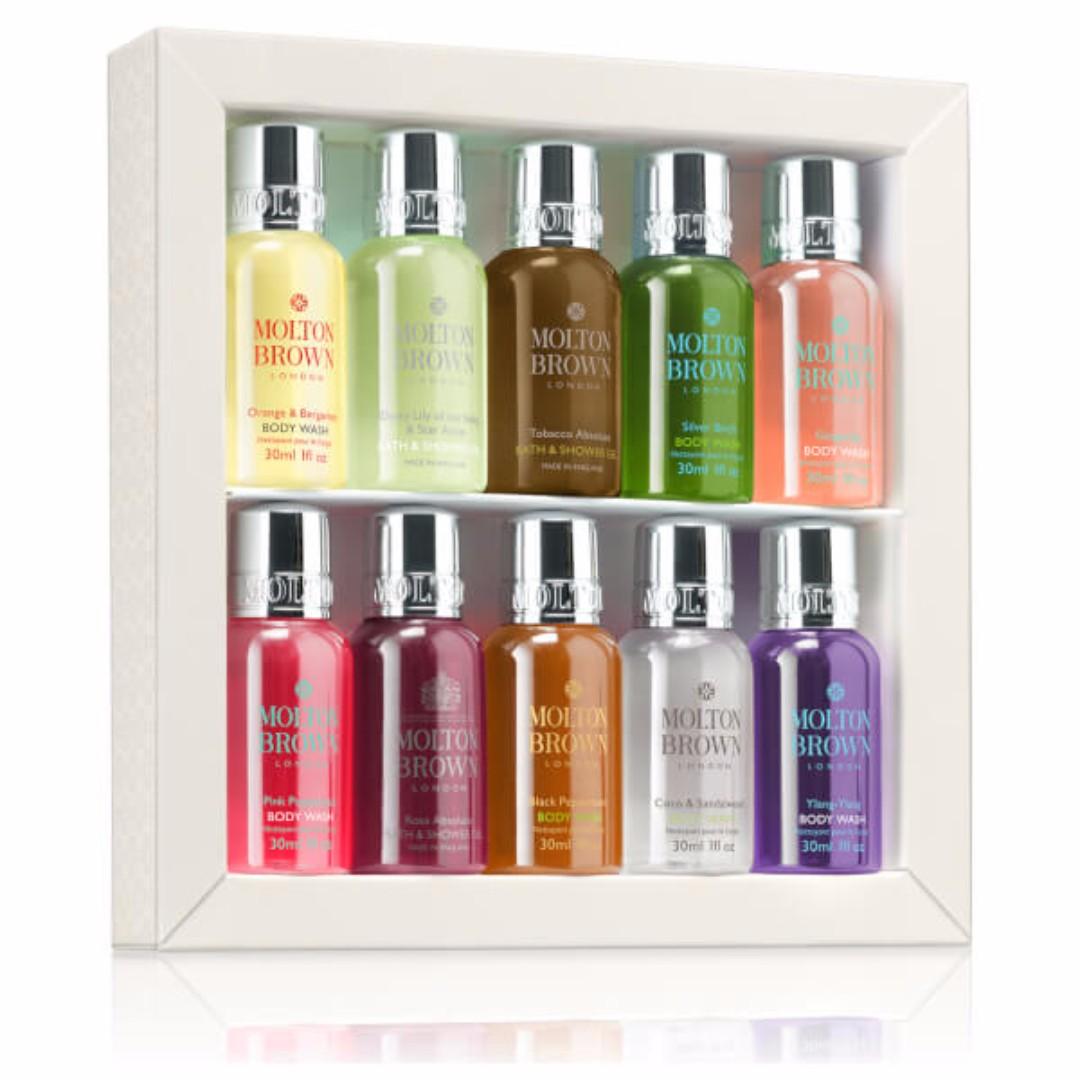 *現貨*英國皇室品牌MOLTON BROWN 摩頓布朗 英國精品 Molton Brown 限量沐浴禮盒10禮品組