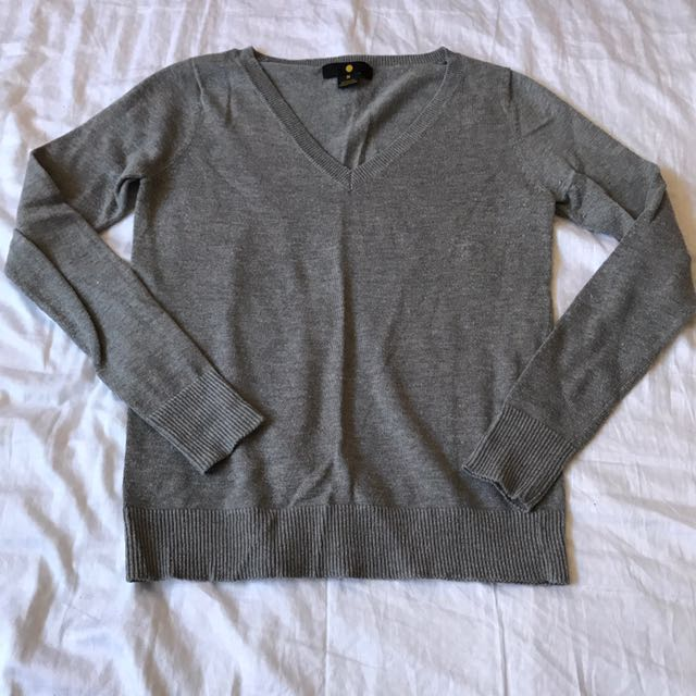 Moon grey sweater