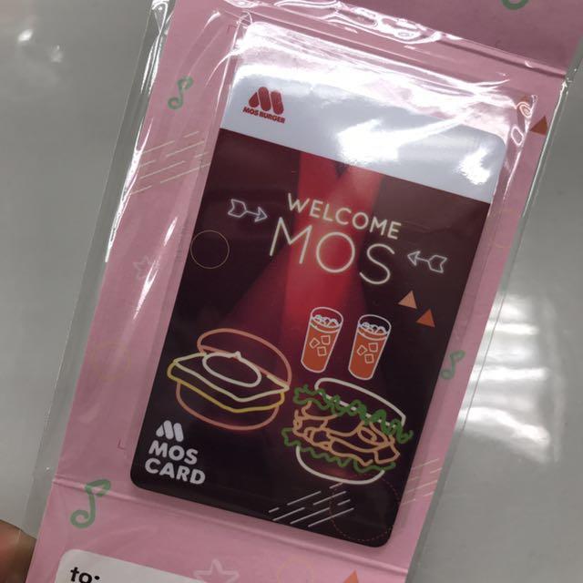 摩斯卡(MOS CARD)二代卡含儲值金2000元,加上套餐兌換券4張