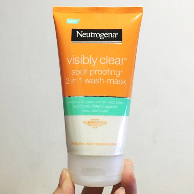 NEUTROGENA VISIBLY CLEAR®2 in 1 Wash Mask