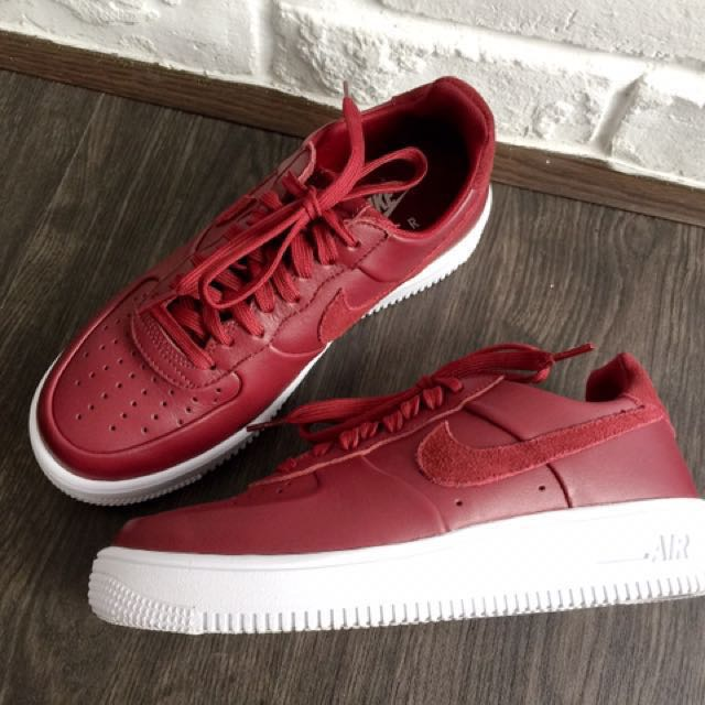 quality design 65d81 f40b7 Nike Air Force 1 Low Ultraforce Team Red Leather US 7 / UK 6 ...