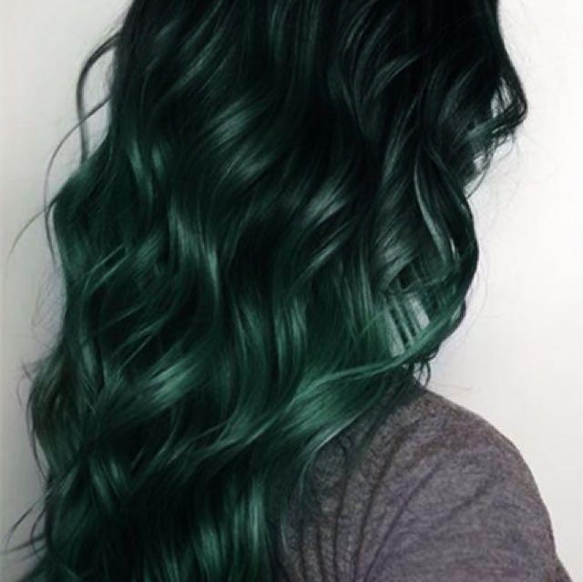 Organic Green Hair Color