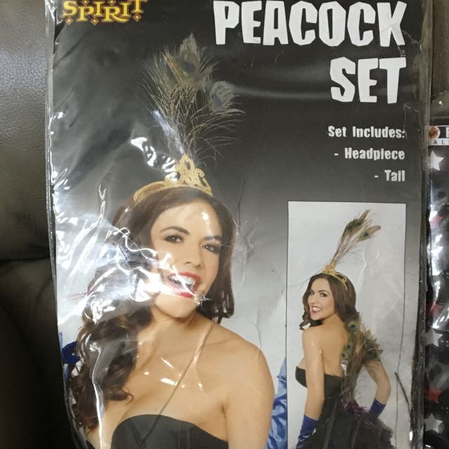 Peacock tail and Crown