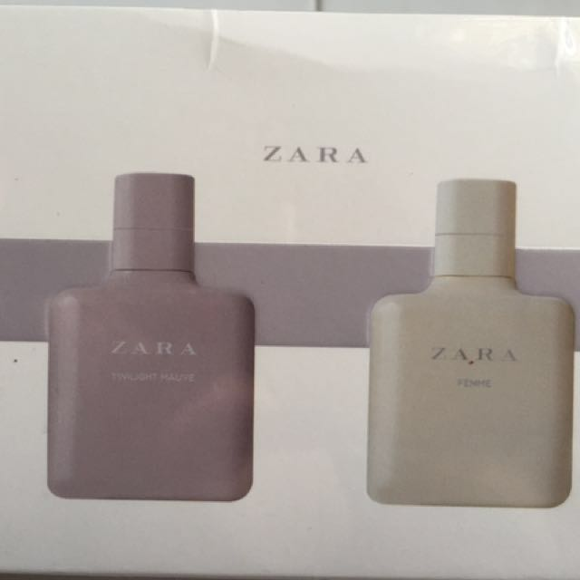 Perfume Zara Edt 2x 100ml Health Beauty Perfumes Nail Care