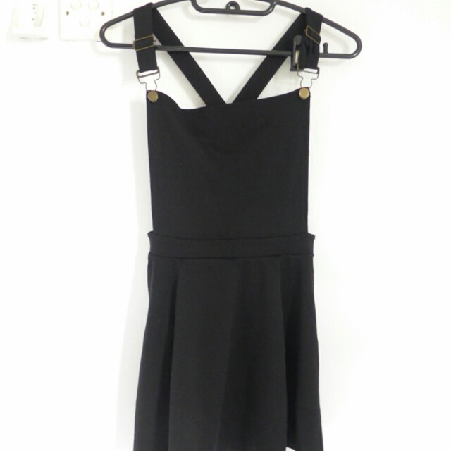 [PL] COTTON ON Black Romper/Flared Jumpsuit
