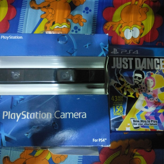 Ps4 camera with just dance 2016