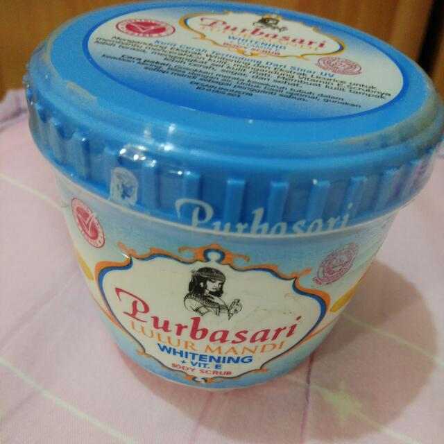 Purbasari印尼身體磨砂膏