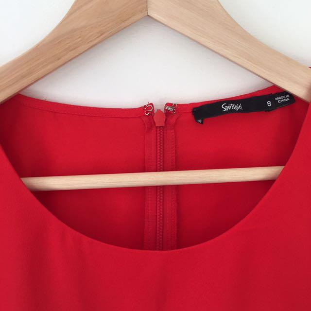 Red Sportsgirl Dress
