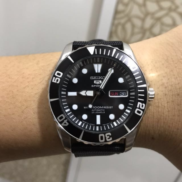 premium selection 58090 1f51e Seiko SNZF17J1 Sea Urchin, Luxury, Watches on Carousell