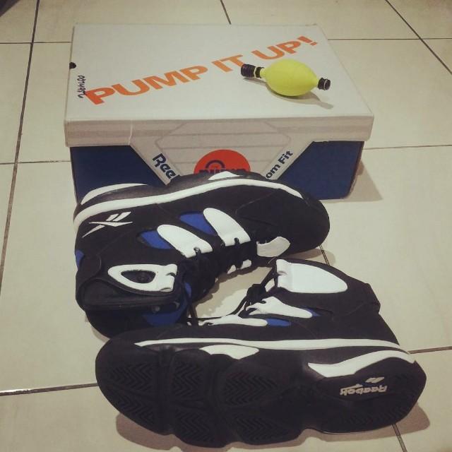 Sepatu Basket Reebok Pump Shaq Attaq not  Air Jordan Lebron Kobe Kyrie KD  Kamikaze d61d2704c1