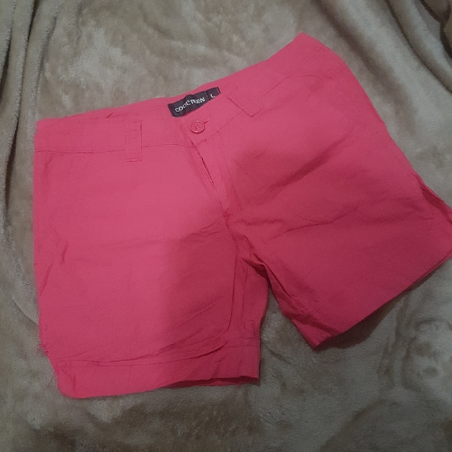 Short Pants Cool Teen Pink