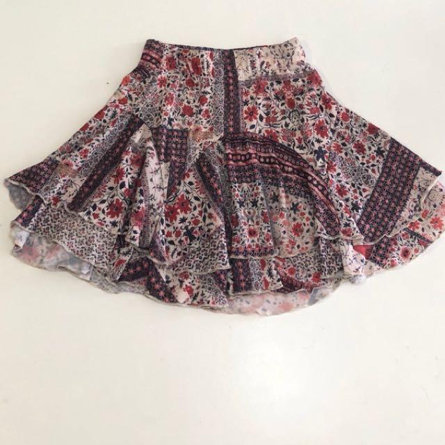 Skirt from Bershka