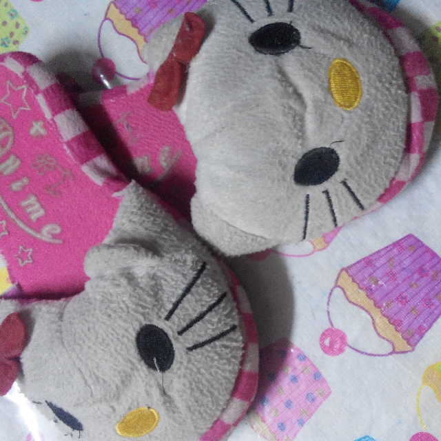 Sleeping Slippers (Hello Kitty)