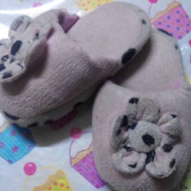 Sleeping Slippers (Flower Design)