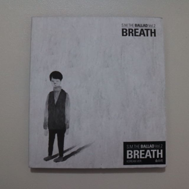 SM THE BALLAD BREATHE (korean)