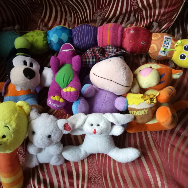 Soft/stuff toys take all!!!