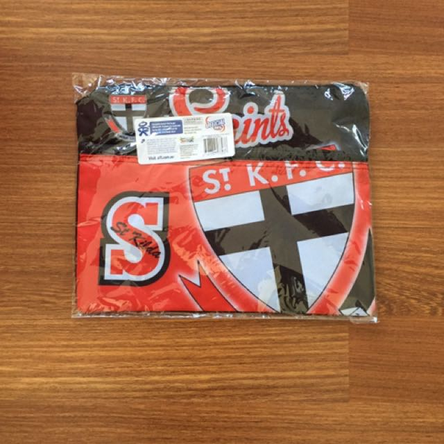 St Kilda Saints pencil case/sticker set