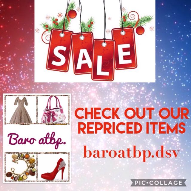 SUPER SALE!!! Items repriced