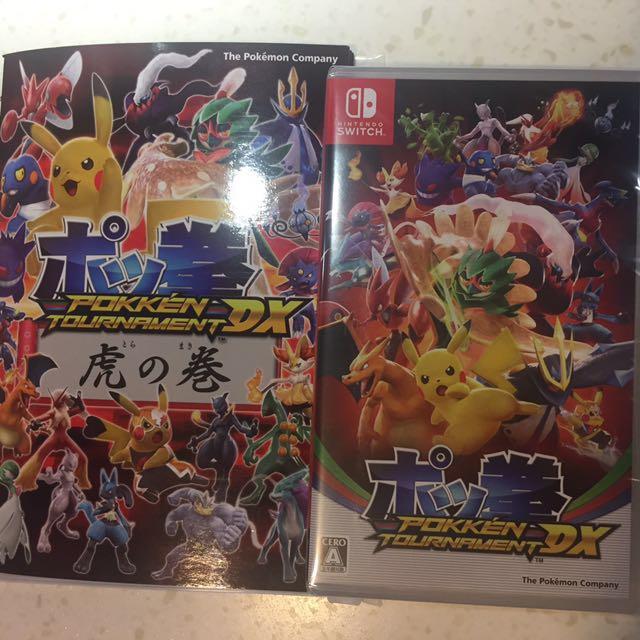 switch 版100%new pokken pokemon 格鬥 go