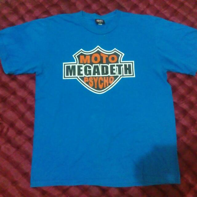 Tee's Heavy metal Megadeth