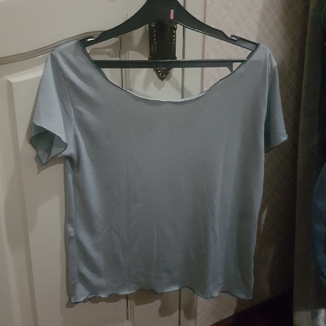 Top grey loose tshirt