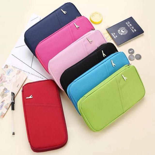 Travel documents pouch