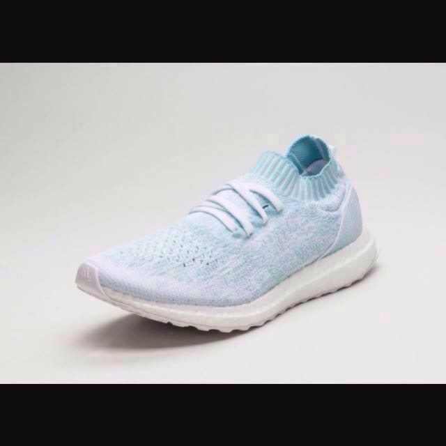 ac958b3dd ultra boost uncaged parley ice blue white