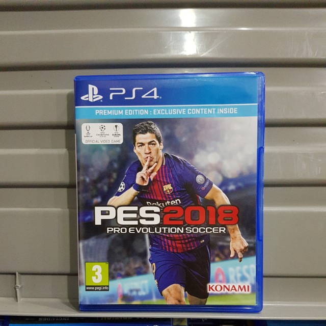 (USED) PES 18 PS4 GAME