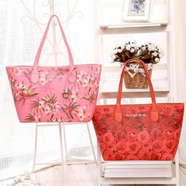 Victoria's Secret floral saffiano
