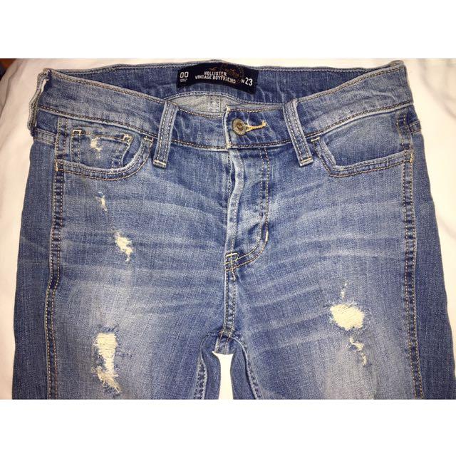 Vintage Boyfriend Jeans - Hollister