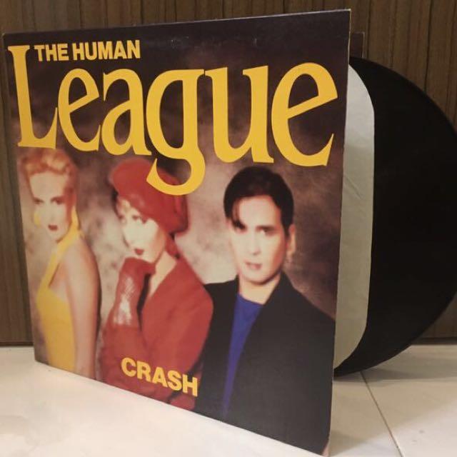VINYL THE HUMAN LEAGUE Crash (1986)