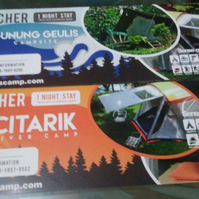 Voucher Camping dan Glamping