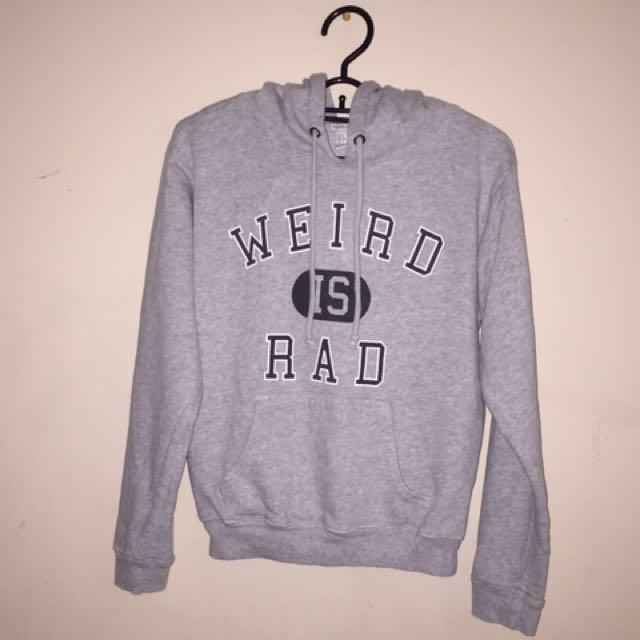 WEIRD IS RAD Pullover