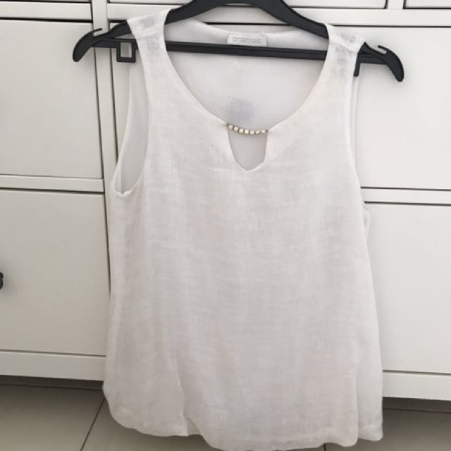 White Promod top